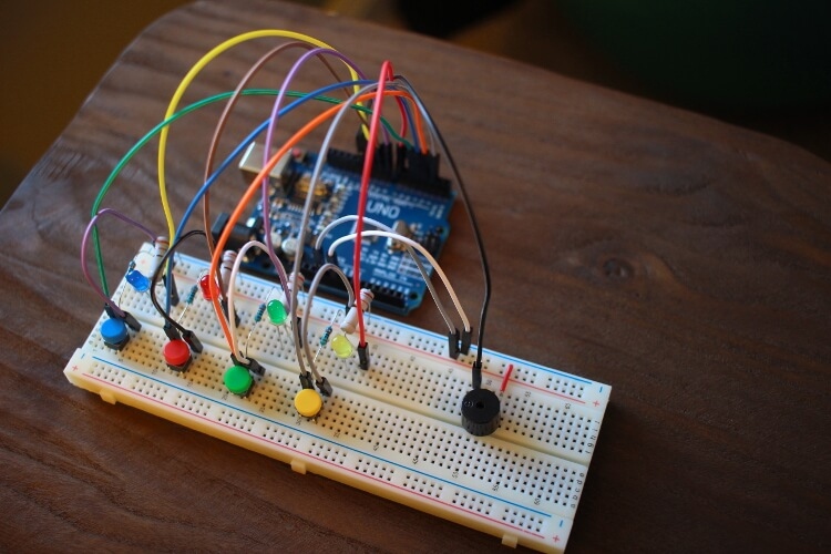 Creation crate month an arduino powered memory game